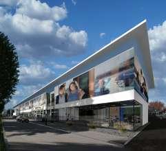 BMW Wien, Umbauentwurf Schauraum (03/2013)