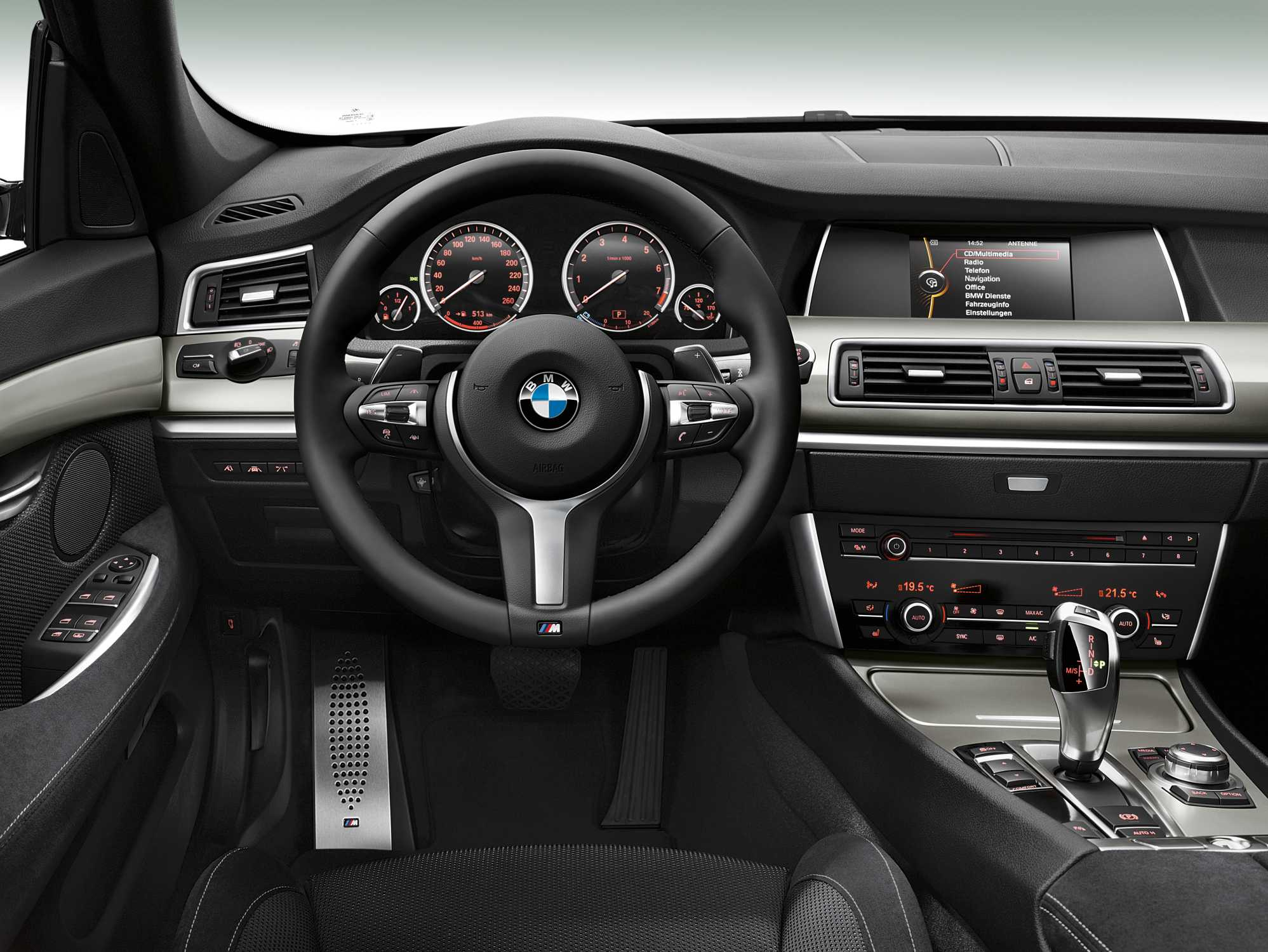 The New Bmw 5 Series Gran Turismo M Sport Package 05 2013