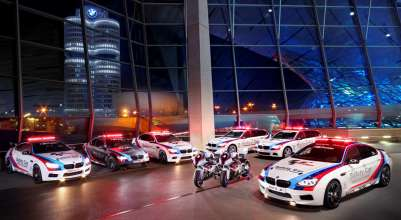 BMW M Official Safety Car fleet of MotoGP™. (04/2013)