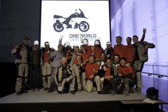 ONE WORLD. ONE BMW R 1200 GS-Tour, The Team (04/2013)