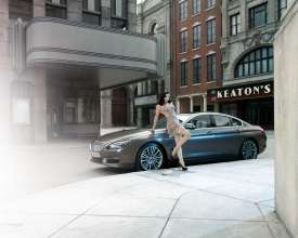 Burlesque Photography for a calender celebrating the 650i Gran Coupé © BMW AG / Uwe Düttmann 2011