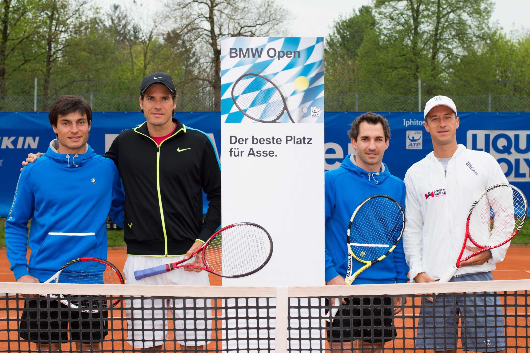 Dtm Stars Im Doppel Mit Deutschen Top Spielern Bei Den Bmw Open