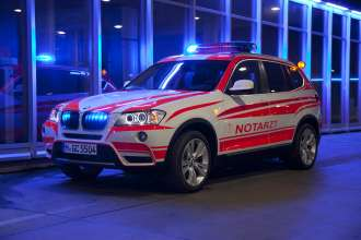 BMW X3 xDrive 20d Emergency Medical services vehicle. (05/2013)