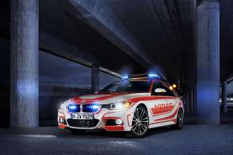 BMW 3 Series Touring Emergency Medical services vehicle with M package. (05/2013)