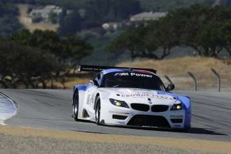 09.05.2013 to 11.05.2013, American Le Mans Series 2013,  Round 3, Laguna Seca, Monterey, CA (USA). American Le Mans Monterey. Dirk Müller (DEU), John Edwards (USA), No 56, BMW Team RLL, BMW Z4 GTE. This image is Copyright free for editorial use © BMW AG