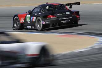 09.05.2013 to 11.05.2013, American Le Mans Series 2013,  Round 3, Laguna Seca, Monterey, CA (USA). American Le Mans Monterey. Bill Auberlen (USA), Maxime Martin (BEL), No 55, BMW Team RLL, BMW Z4 GTE. This image is Copyright free for editorial use © BMW AG
