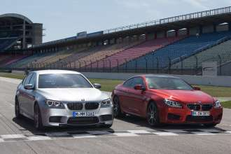 BMW M5 and BMW M6 Coupe Competition Package. (05/2013)