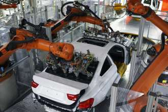 BMW Plant Munich Production, Assembly Windshields (06/2013)
