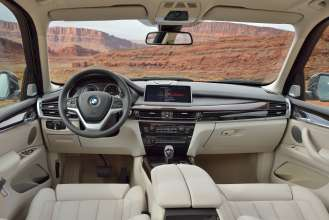 The new BMW X5 xDrive50i, Design Pure Excellence, Exclusive Leather Nappa Ivory White (05/2013)