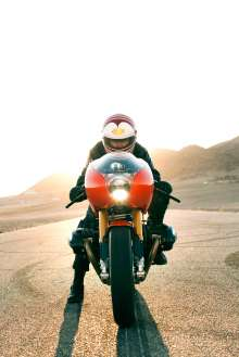 BMW Motorrad. Concept Ninety. On location (05/2013)
