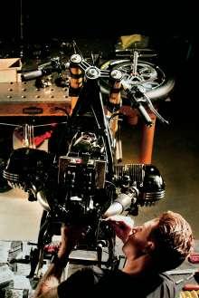 BMW Motorrad. Concept Ninety. On location (05/2013)