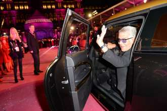 MINI designed by Cavalli auf dem Magenta Carpet des Life Ball 2013. (05/2013)