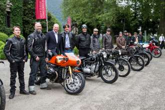 BMW Motorrad at the Concorso d'Eleganza Villa d'Este with Roland Sands, Ola Stenegard, Stephan Schaller and Edgar Heinrich (05/13)