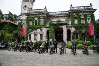 BMW Motorcycle at the Concorso d'Eleganza Villa d'Este with Heiner Faust, Roland Sands, Ola Stenegard, Stephan Schaller and Edgar Heinrich (05/13)