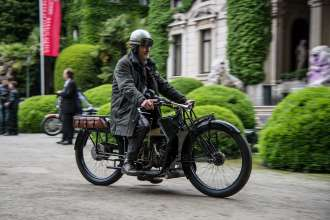 BMW Motorcycle at the Concorso d'Eleganza Villa d'Este (05/13)