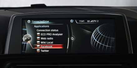 BMW ConnectedDrive, Realignment, Facebook (06/2013)