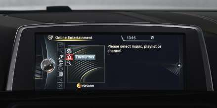 BMW ConnectedDrive, Realignment, Online Entertainment (06/2013)