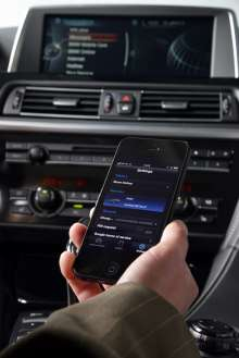 BMW ConnectedDrive, Realignment, Head Unit and Smartphone (06/2013)