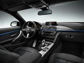 The new BMW 4 Series Coupe (M Sport package) (06/2013).