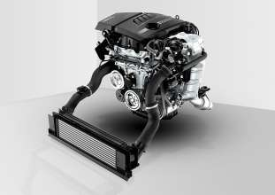 1.6-litre BMW TwinPower Turbo in-line gasoline engine (06/2013)