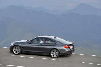 The new BMW 4 Series Coupe (Sport Line) (06/2013).