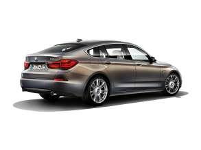 BMW Individual 5 Series Gran Turismo (F07 LCI) - 535d - Paintwork: BMW Individual Champagne Quartz metallic - Wheels: BMW Individual Light-alloy wheels V-spoke 301 l. © BMW AG (10/2013)