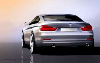 The new BMW 4 Series Coupe (06/2013).