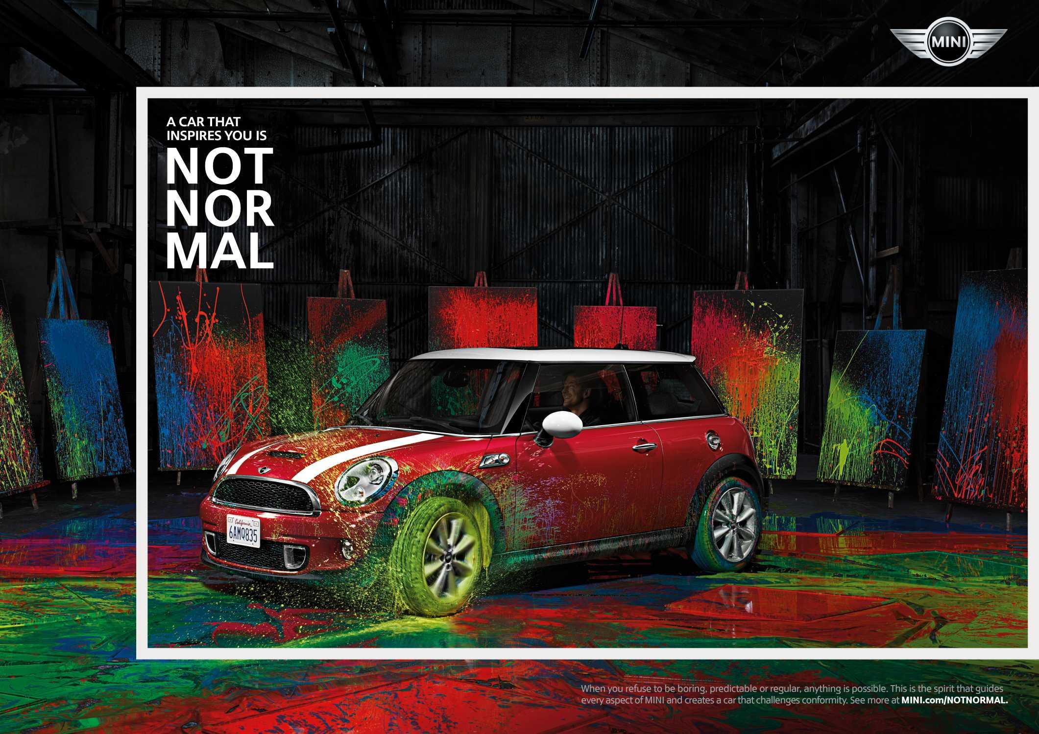 """NOT NORMAL"" – MINI Markenkampagne"