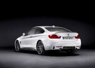 The new BMW 4 Series Coupe with M Performance Parts (8/2013)