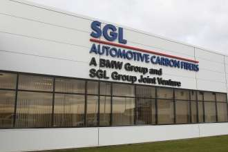 BMW i Production Moses Lake: Office building SGL Automotive Carbon Fibers LLC in Moses Lake (09/2013)