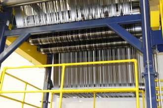 BMW i Production: Last rollers of one the two carbon fiber lines in Moses Lake. (09/2013)