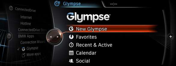 BMW Group, new App by Connected Drive, Glympse (07/2013)
