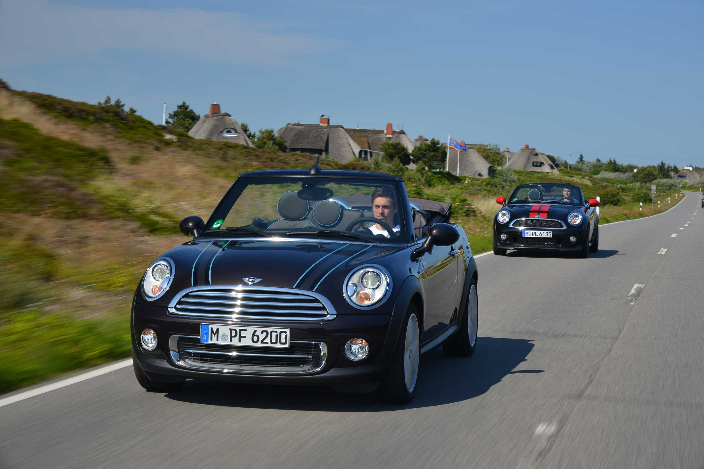 Mini Convertible And Mini Roadster Two Models That Mean The Skys