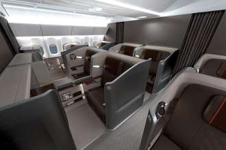 BMW Group DesignworksUSA for Singapore Airlines: More comfort, room and privacy. (07/2013)