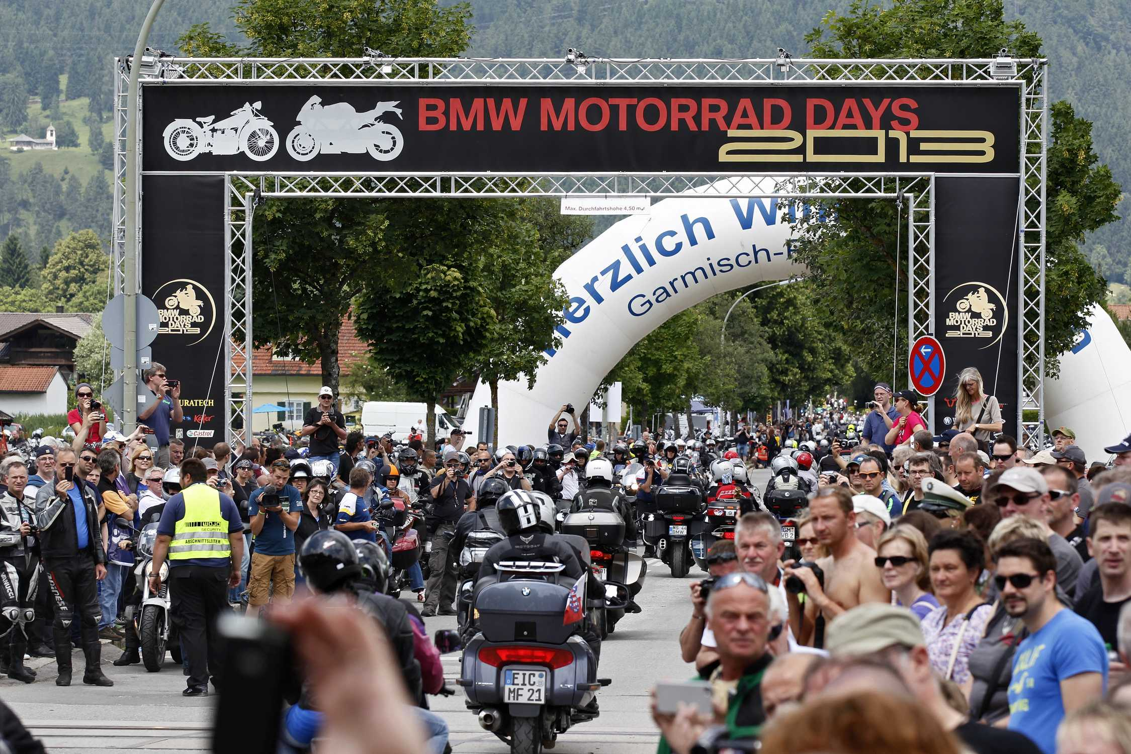 Attendance Record At The 13th Bmw Motorrad Days