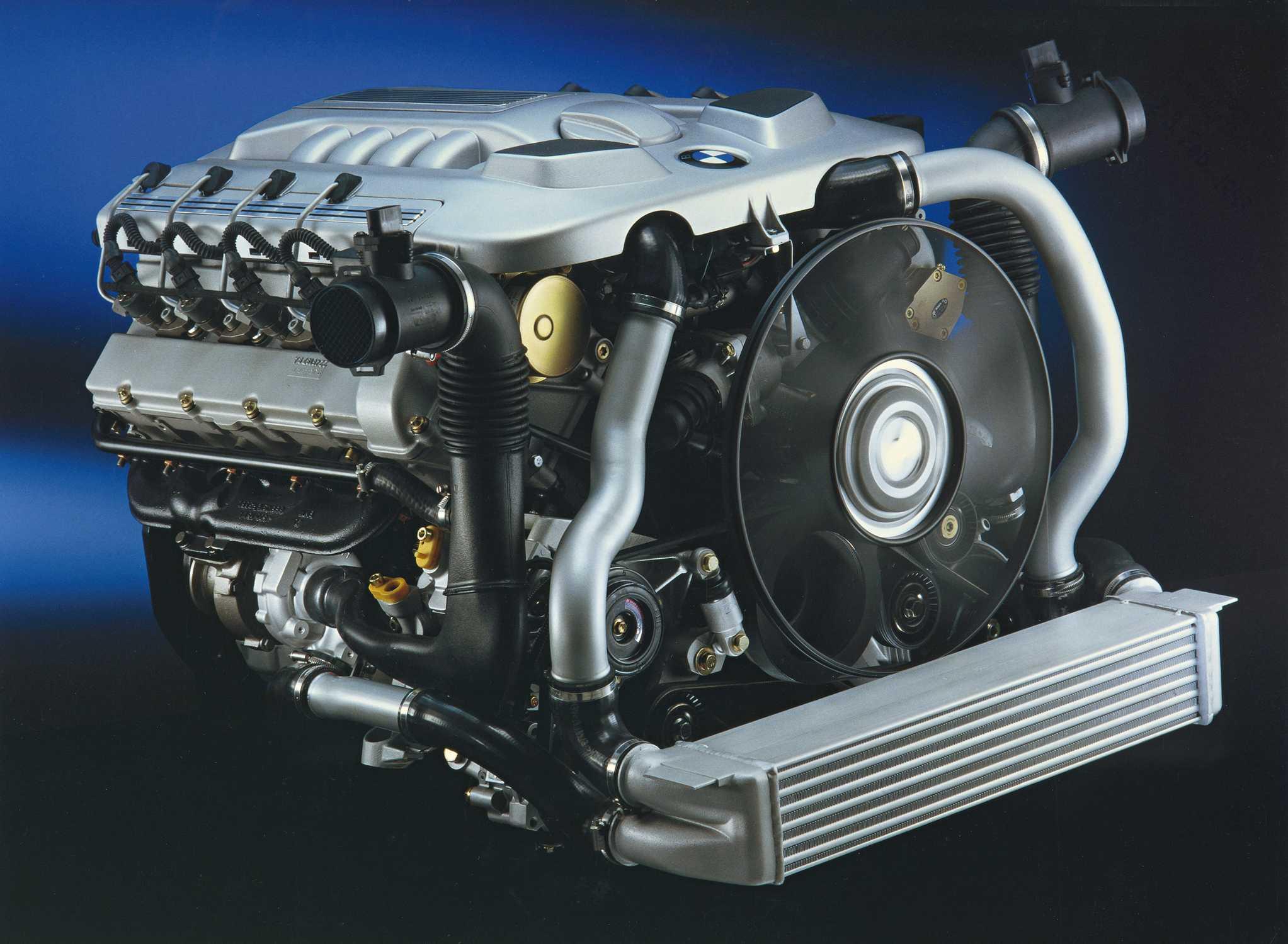 30 years BMW diesel engines, BMW 740d, V8 Dieselmotor ...
