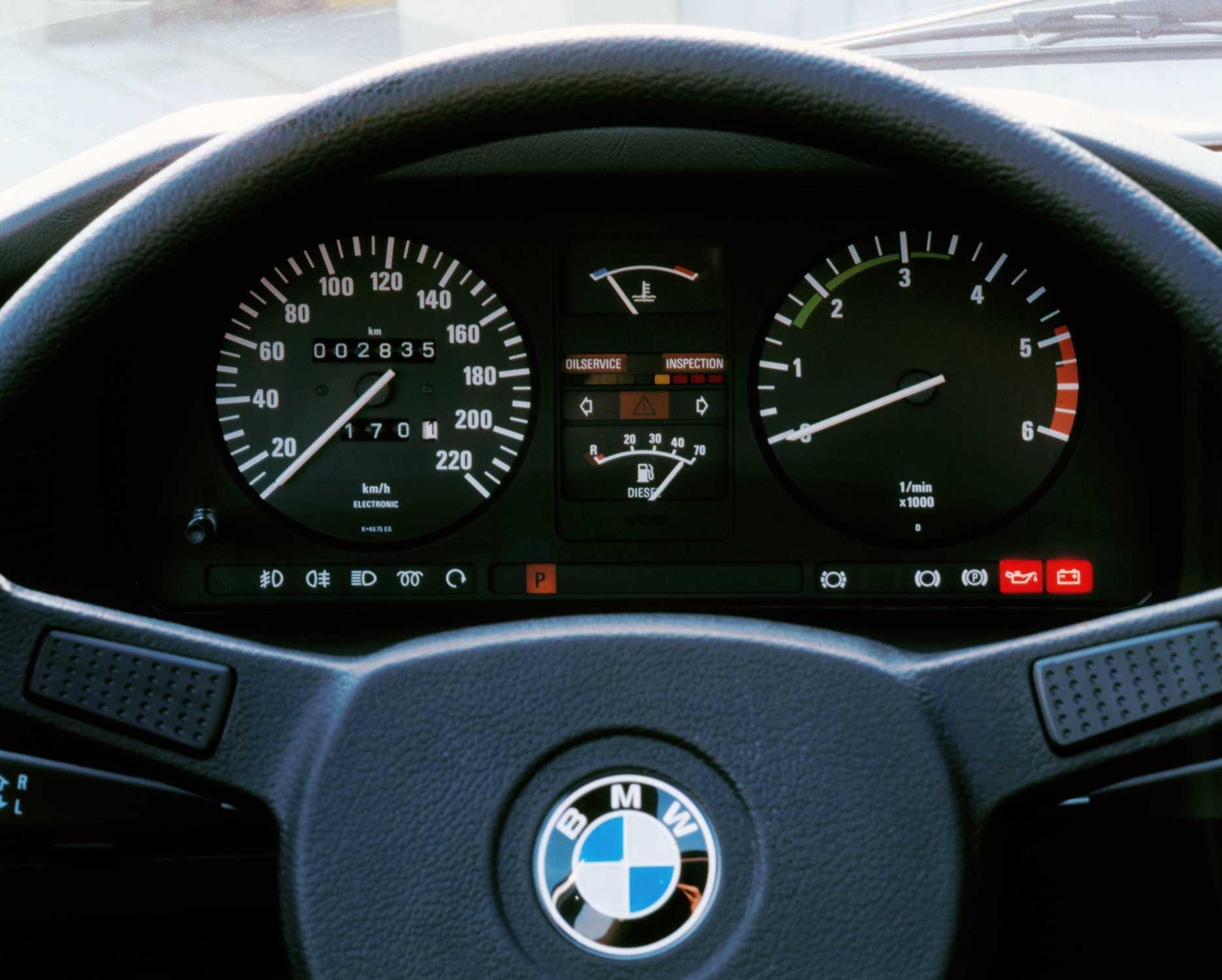 30 years BMW diesel engines, BMW 524td (1983), (07/2013)