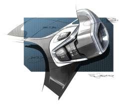 BMW i3, design sketch (07/2013)