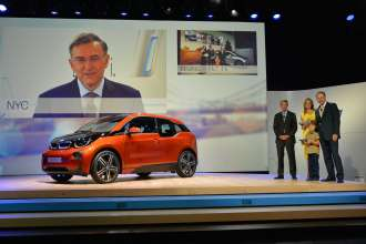 World premiere BMW i3 in London, Great Britain (07/2013).
