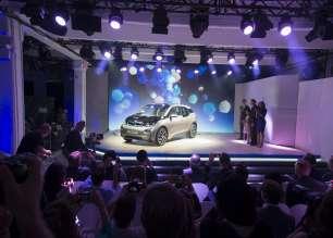 World premiere BMW i3 in New York City, USA (07/2013).