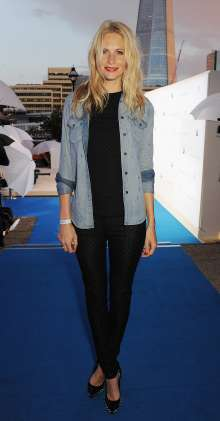 Poppy Delevingne at the world premiere of the BMW i3 in London. (07/2013)