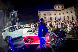 Milan, 30 July 2013. Italian debut of the BMW i3 on the occasion of