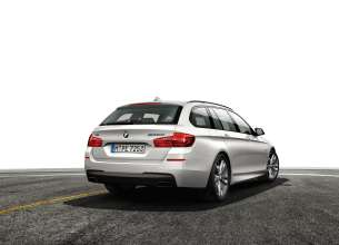 BMW M550d xDrive, Touring. (08/2013)