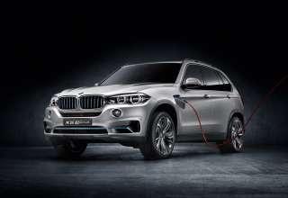 The BMW Concept X5 eDrive (08/2013)