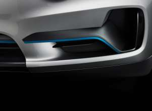 The BMW Concept X5 eDrive, air curtain (08/2013)