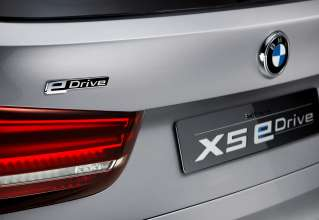 The BMW Concept X5 eDrive,  badge (08/2013
