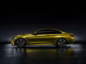 The BMW Concept M4 Coupe. This image is copyright free for editorial use © BMW AG