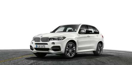 The new BMW X5 M50d (08/2013)