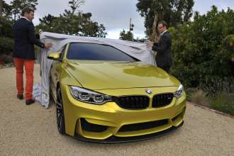 Unveiling of the BMW Concept M4 Coupe (08/2013).