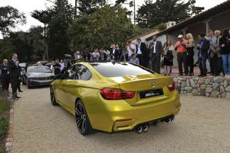 The BMW Concept M4 Coupé (08/2013).